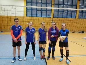 Moritz, Celina, Tabea, Anna Lena, Cassy