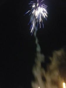 Feuerwerk zum Abschluss