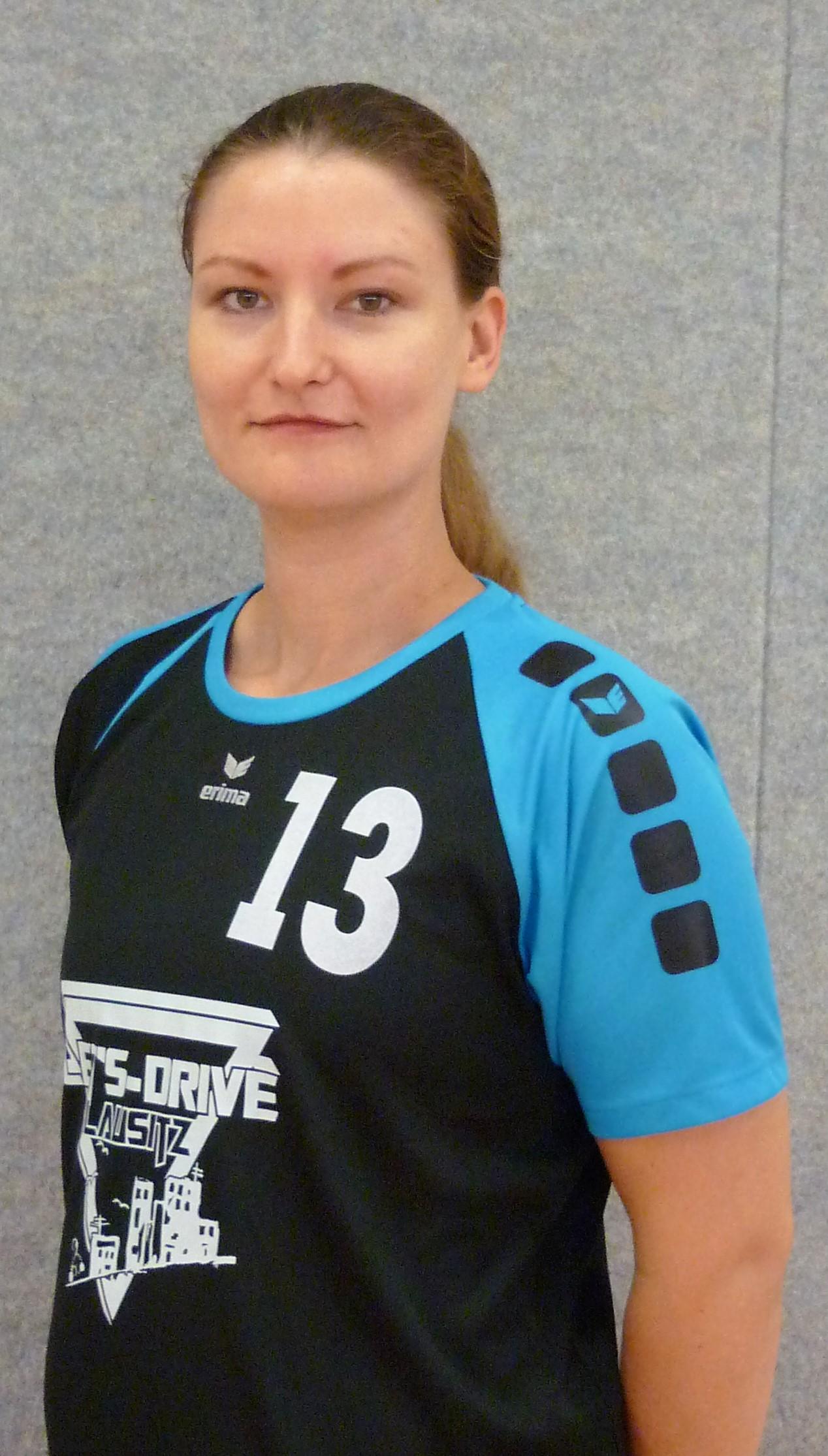 Elisabeth Schwarzenberg Position: Mittelblock Trikotnummer: 13 Größe: 1,74m